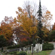 Mount Auburn Cemetery in Massachusetts was founded as America's first garden cemetery in1831 and covers more than 170 acres.