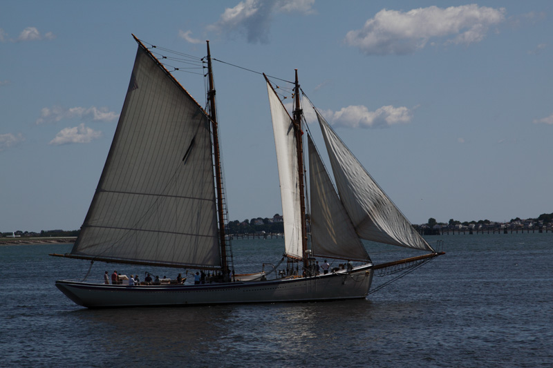 The American Eagle is a two-masted schooner launched in 1930 that is one of the last of its type built in Gloucester, Massachusetts. It was declared a National Historic Landmark in 1992